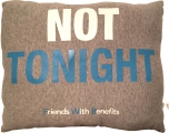 <h5>Friends with Benefits pillow (side B)</h5>
