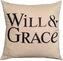 <h5>Will & Grace pillow</h5>