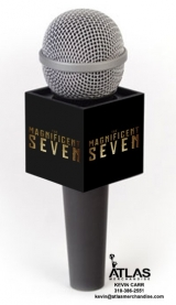 <h5>Magnificent Seven microphone cube</h5>