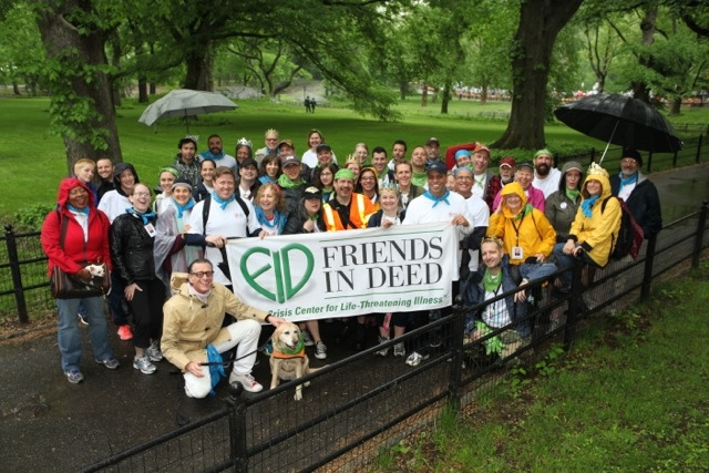 The Friend In Deed Team. Friends In Deed is fortunate to have a core of over 100 dedicated volunteers who generously give their time and talents each week – working an astounding 1,500 hours every month.
